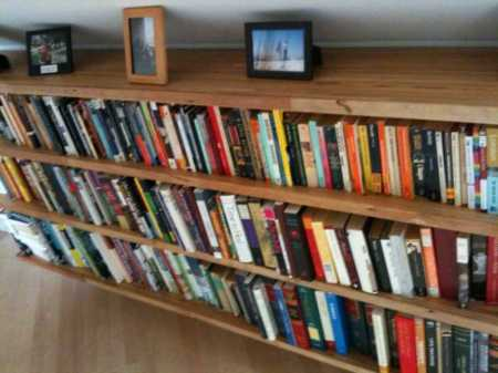 Finished Book Shelves