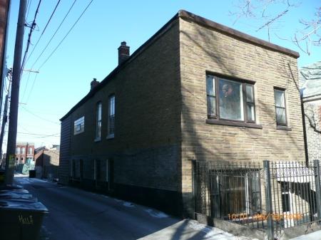 The original facade